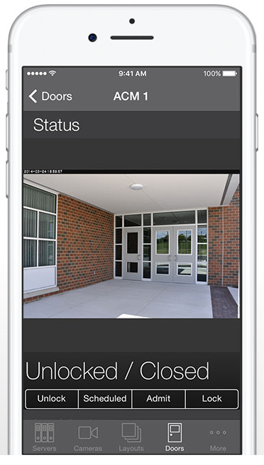 Access Control Integrartion_ios