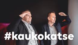 Kaukokatse video Petteri Tahvanainen (Valio) ja Juha Rytkönen (Kauko)