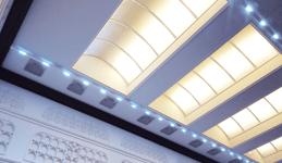 BrainLit-valaistusjärjestelmä käytössä Handelsbankenilla Kuva: BrainLit