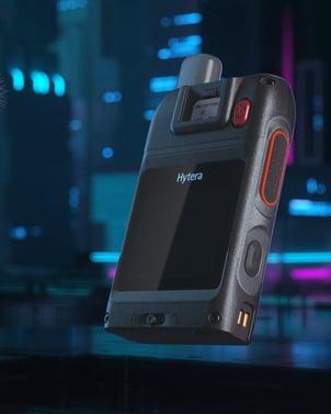 Hytera VM580D - yhdistetty kehokamera ja radiopuhelin Kuva Hytera