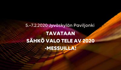 Kauko mukana Sähkö Valo Tele AV 2020 messuilla