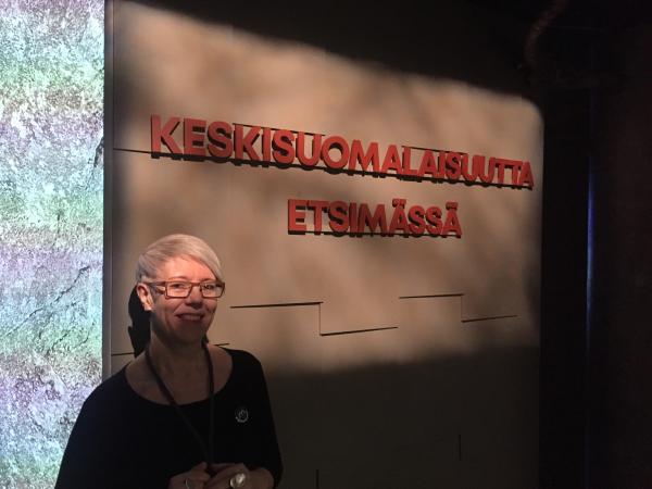 Henkilökuva Tuula Vuolio-Vallenius Kuva Johanna Puhakka KeMu