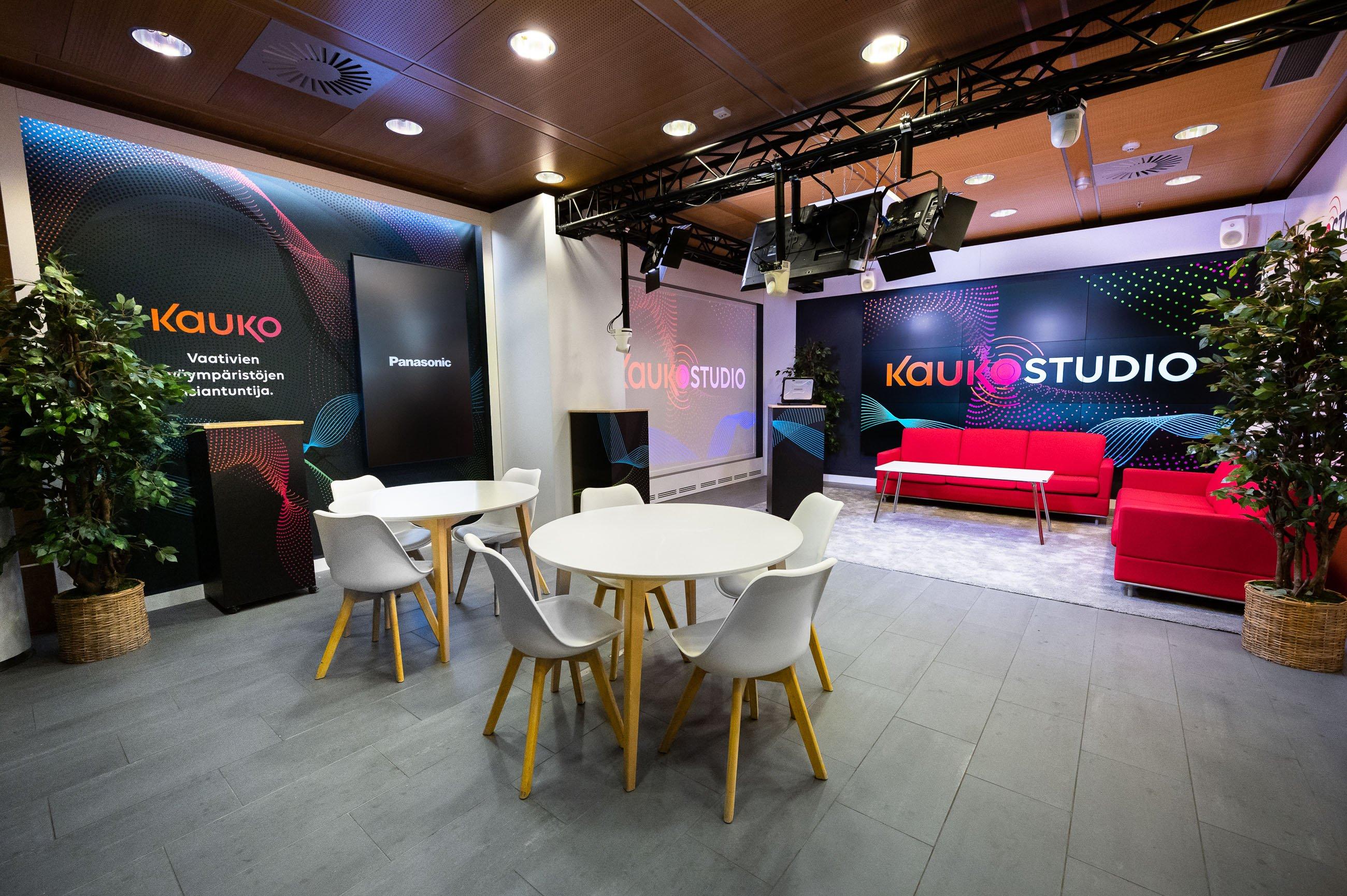Kauko Studio PRO AV Showroom Kuva Paula Ojansuu