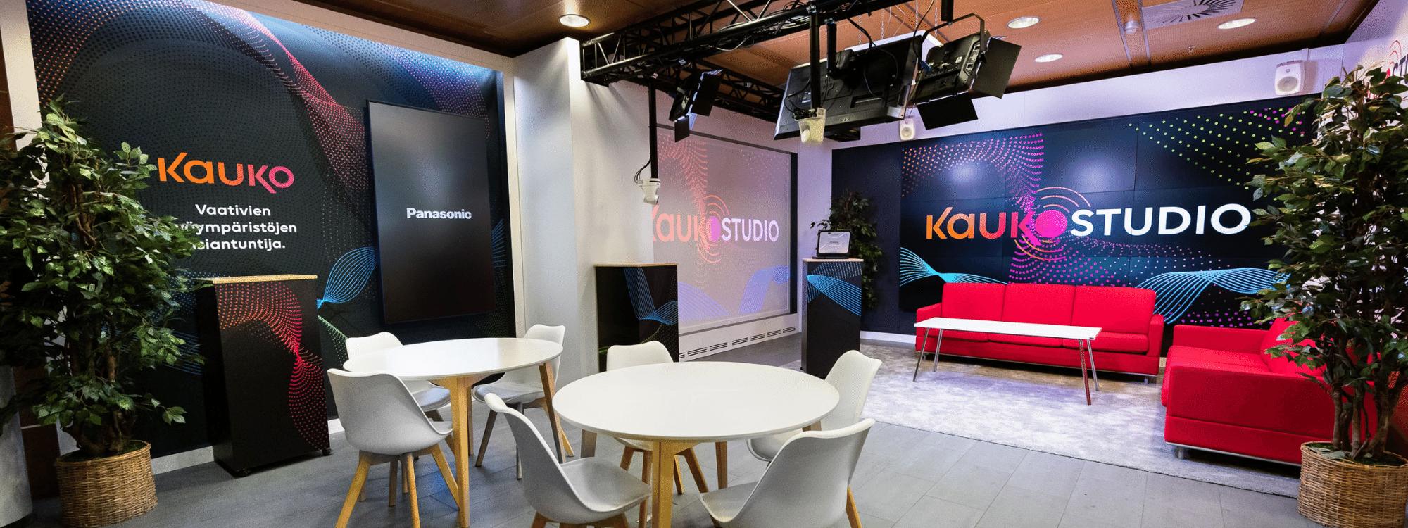Kauko Studio PRO AV Showroom herokuva Kuva Paula Ojansuu
