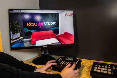 videotuotanto ja videonjako Kauko Studiossa Kuva Paula Ojansuu