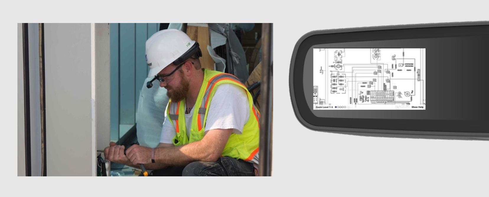 RealWear-HMT-1-Document-Navigator-käyttöympäristö-ja-älylasinäkymä