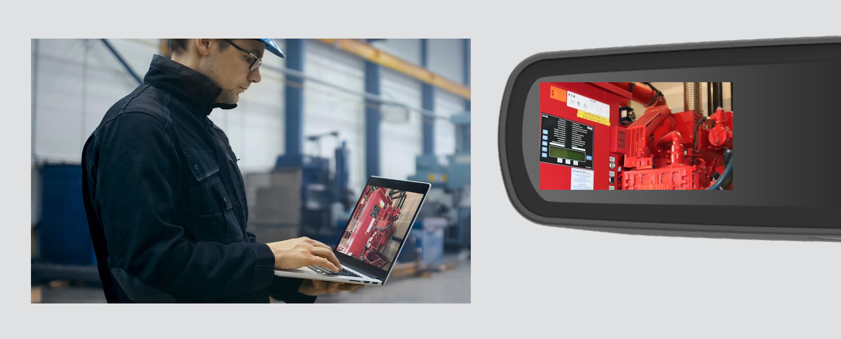 RealWear-HMT-1-Remote-Mentor-käyttöympäristö-ja-älylasinäkymä