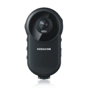 Kedacom-kehokamera kiinnitetään rintapieleen Kuva Kedacom