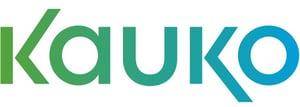 Kauko-logo-sinivihreä
