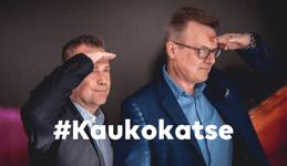 Kaukokatse videokeskustelu Vesa Siitari ja Juha Rytkönen