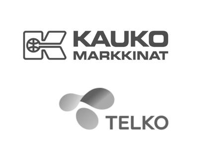 Kaukomarkkinat-ja-Telko-logot-harmaasävy