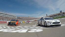 Las Vegas Motor Speedway Nascar race Credit: LVMS.com