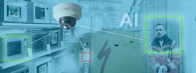 Panasonic AI Network Camera analysoi kohteita tekoälyllä