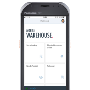 SAP-mobile-warehouse-start-screen-view-on-Panasonic-FZ-T1-handheld-square