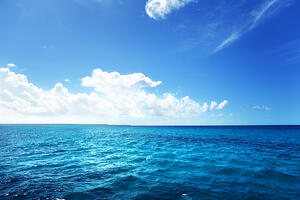caribbean sea and perfect sky Image: Shutterstock