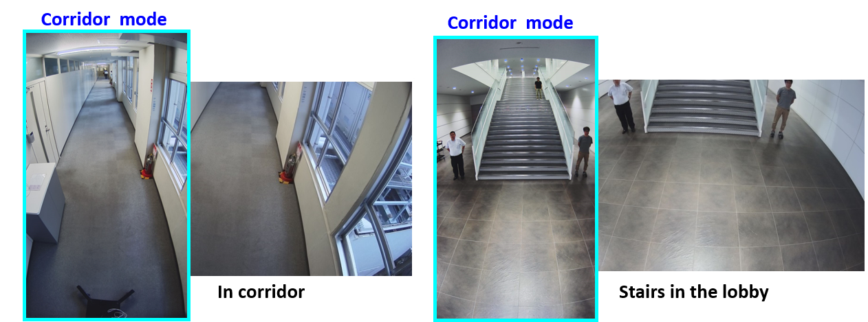 corridor-mode-h265-U-series-security-camera-Panasonic