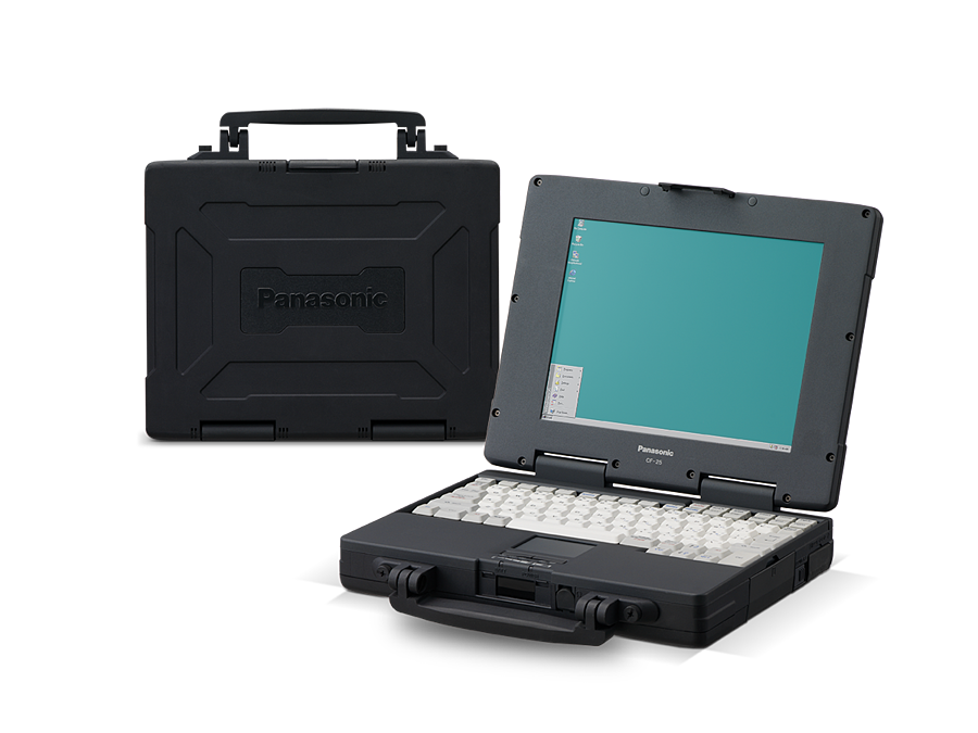 Toughbook-tuoteperhe sai alkunsa vuonna 1996 CF-25 mallilla