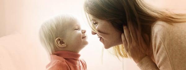 inhimillinen kohtaaminen äidin ja lapsen välillä