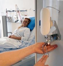 Sani nudge parantaa hoidon käsihygieniaa