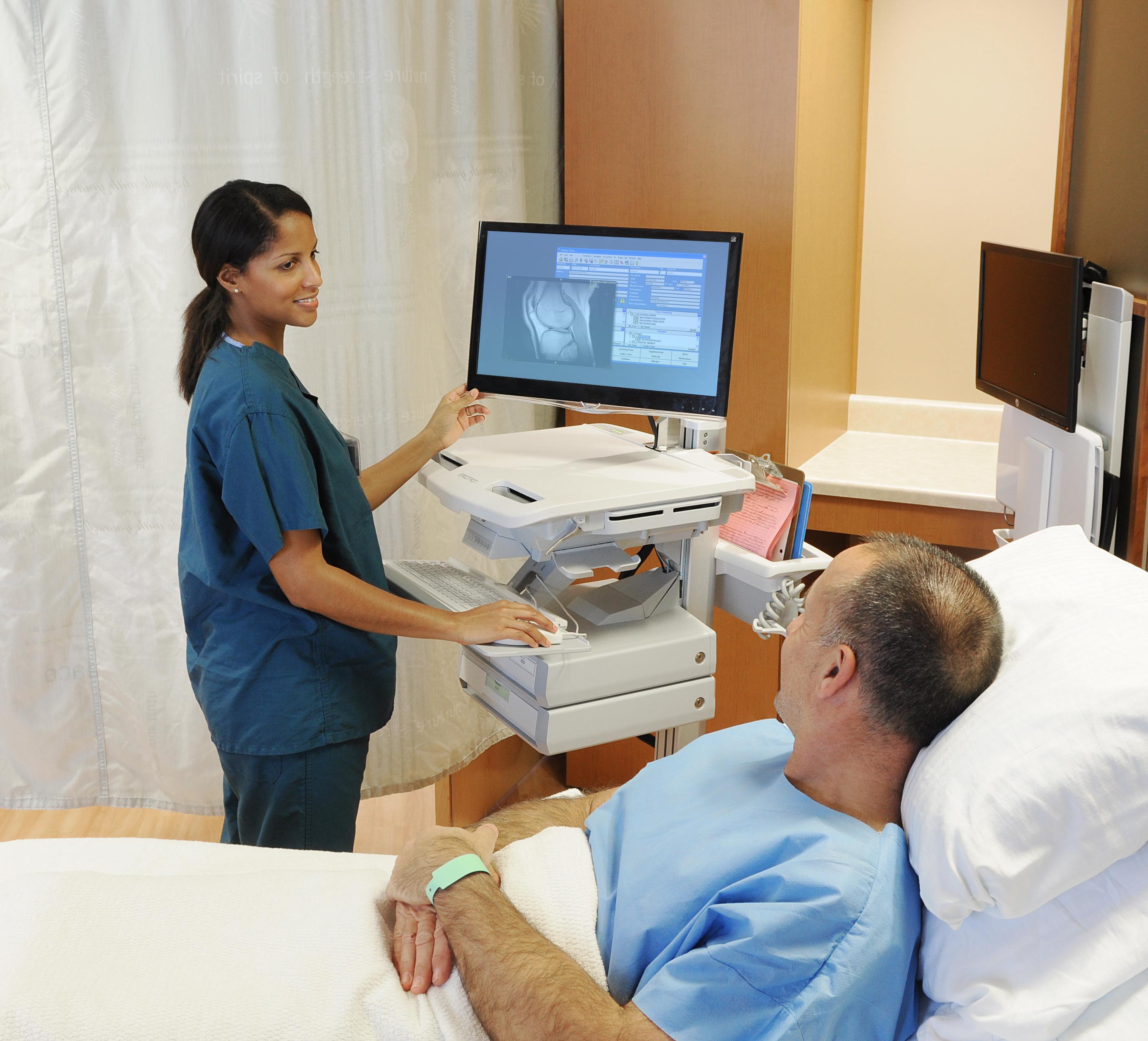 SV42 piv nurse patient room-hr