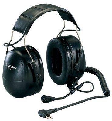 Peltor-kuulonsuojain Flex-liittimellä