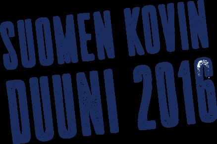 Suomen kovin duuni 2016 - logo